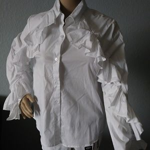 Nwt size small drew button up shirt